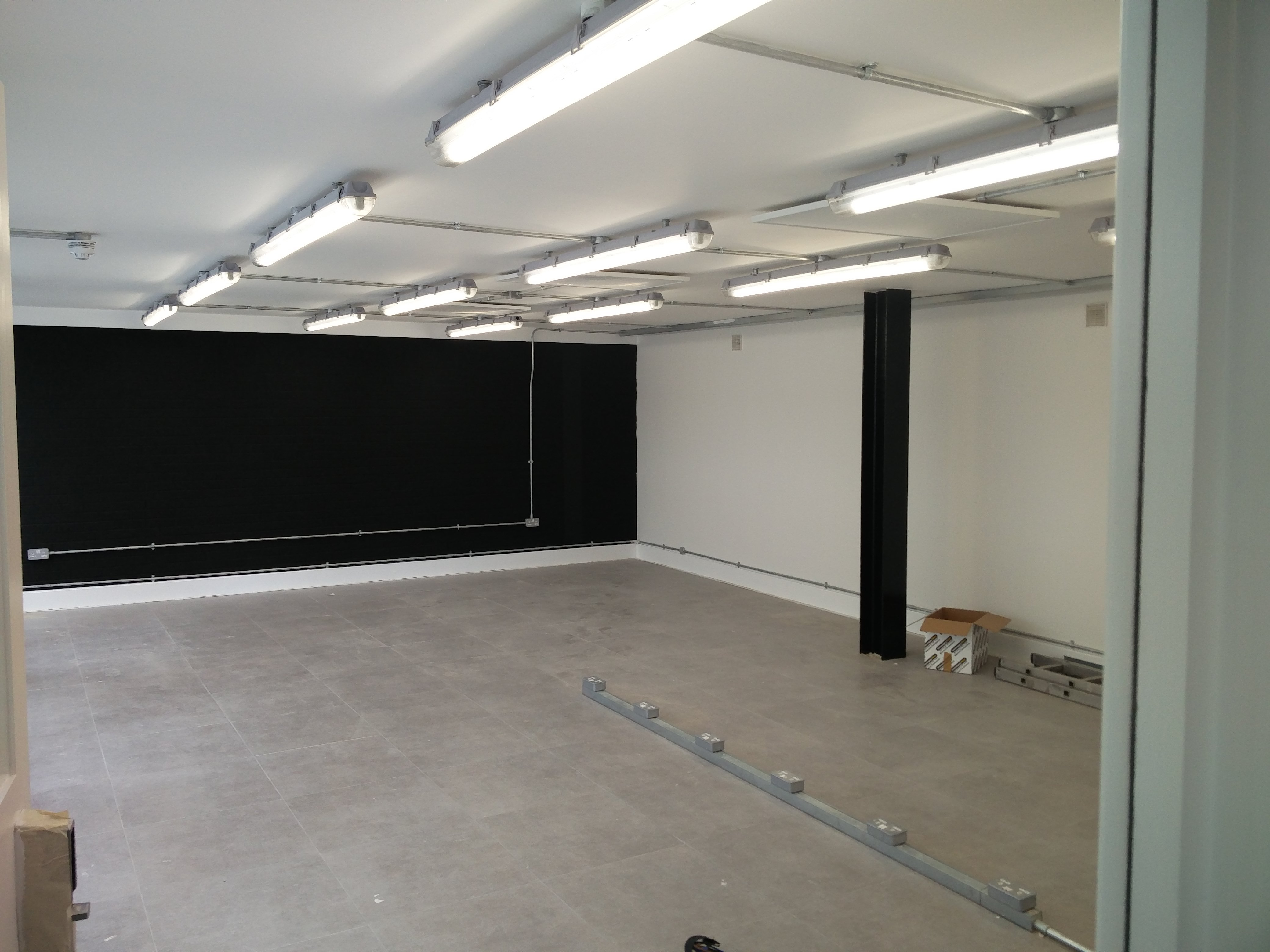 Full office electrical fit out installed by South East Electricians Dalston E8 London